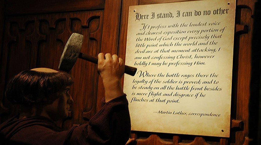Was Martin Luther se optrede geregverdig?