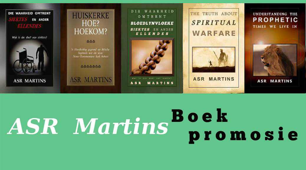 Spesiale ASR Martins Boek Promosie!